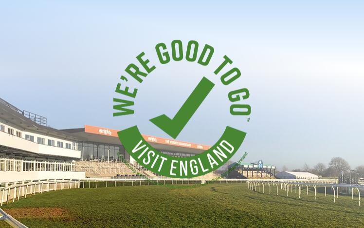 Uttoxeter Racecourse has successfully completed Visit England's UK-wide industry 'We're Good To Go' accreditation mark