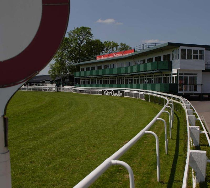 A corner of the racecourse at Uttoxeter
