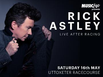 Rick Astley Live After Racing