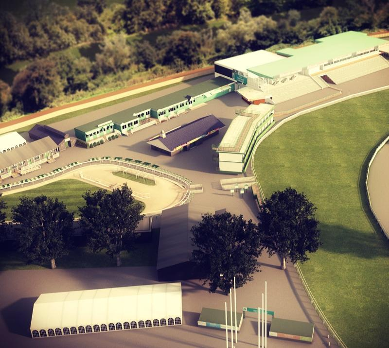 Model of Uttoxeter Racecourse