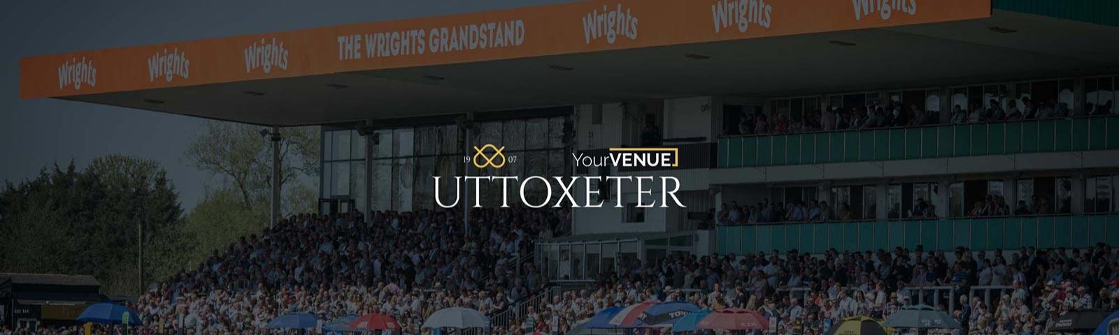 Wrights Grandstand at Uttoxeter Racecourse