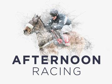 Promotional banner for Winter Afternoon Racing event at Uttoxeter Racecourse.